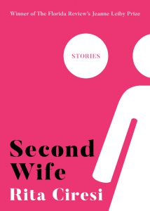 pink cover of Second Wife by Rita Ciresi