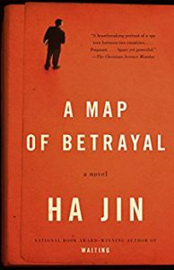 Jin, Ha - cover of A Map of Betrayal