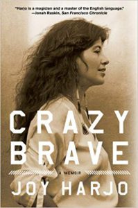 Cover of Joy Harjo's Crazy Brave.