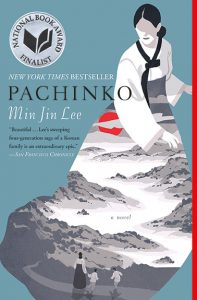 Cover of Pachinko by Min Jin Lee.