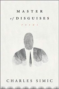 Cover of Master of Disguises by Charles Simic.