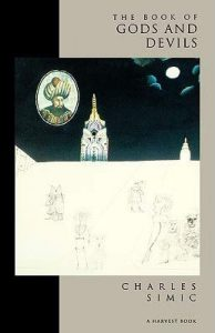 Cover of The Book of Gods and Devils by Charles Simic.