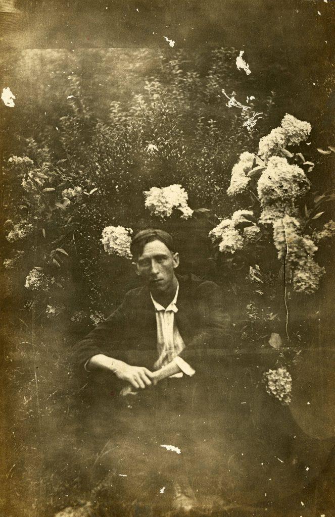 Photo of man from Gideon Thomas Laney Collection, Western Carolina University.