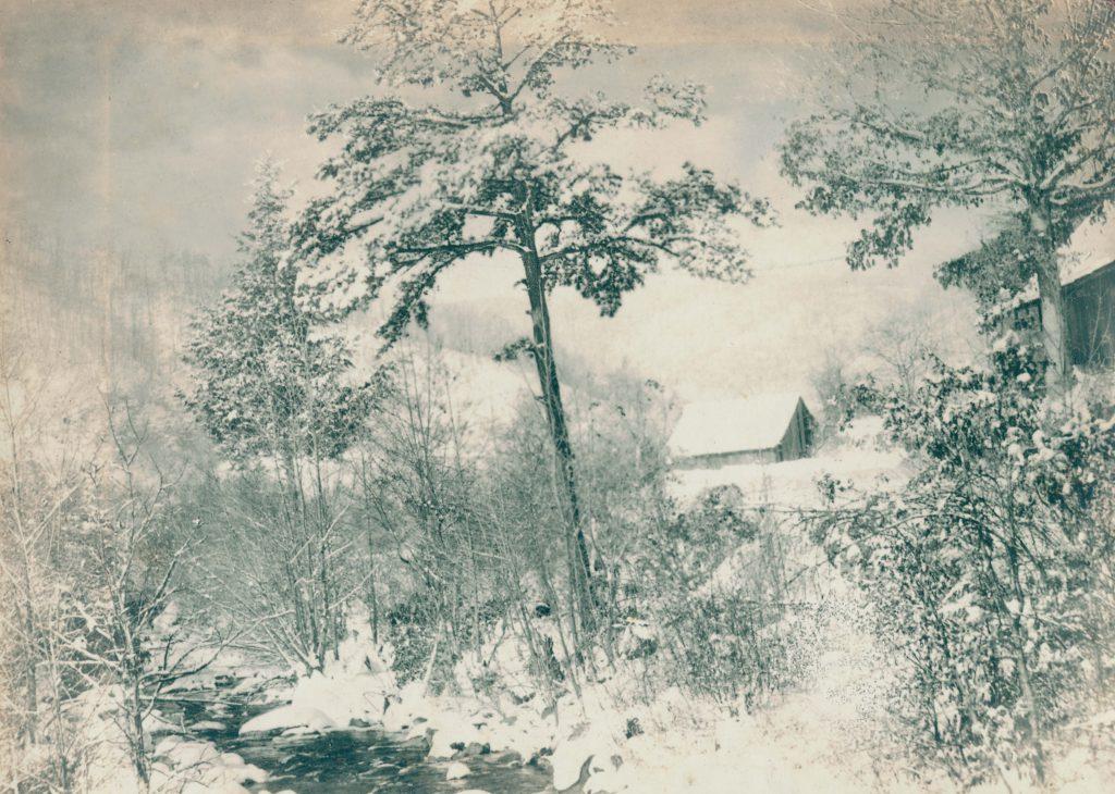 Winter in Appalachia, Virginia Tech University Libraries.